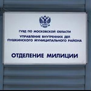 Отделения полиции Щелково